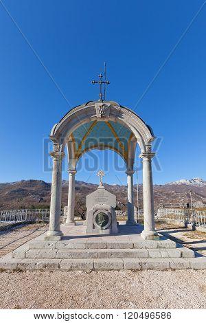 Bishop Danilo Mausoleum At Eagle Hill In Cetinje