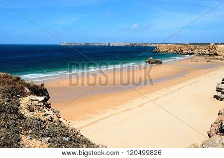 Beach in Sagres, Portugal