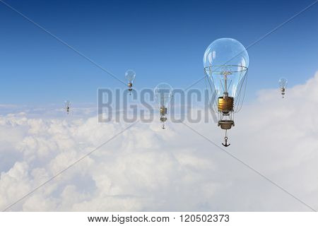 Aerostats flying high