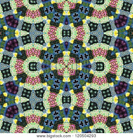 Kaleidoscopic Ornamental Pattern