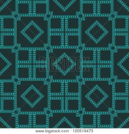 Geometric Techno Pattern