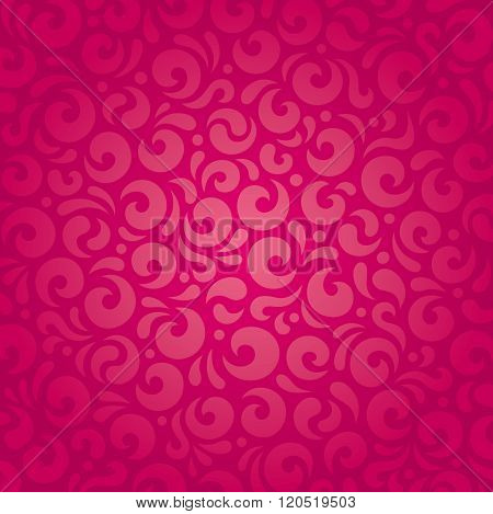 Retro red vector pattern design