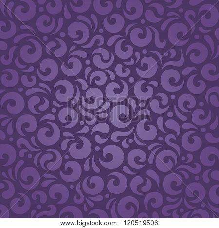 Retro violet vintage pattern background