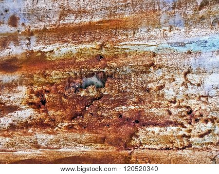 erosion rust photo texture