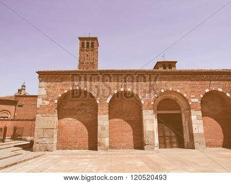 Sant Ambrogio Church, Milan Vintage