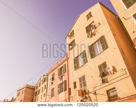 Genoa Old Town Vintage