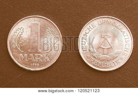 Ddr Coin Vintage