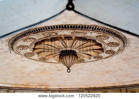 Mughal architecture details, ceiling decoration