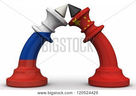 The confrontation between the Russian Federation and China. The concept