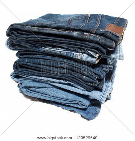 stack with jeans