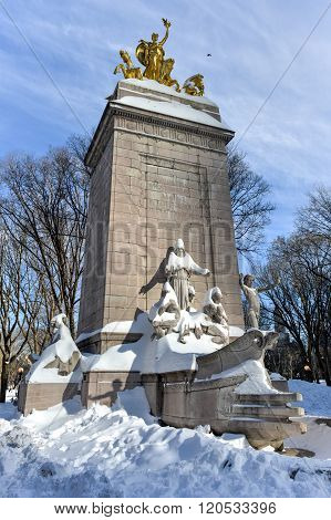 Uss Maine Monument - Central Park, Nyc