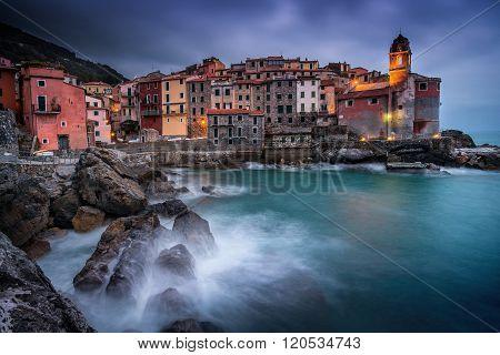 Italy, Liguria, Riviera Di Levante, Tellaro