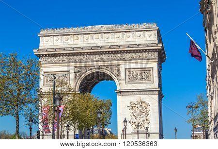 Arc De Triomphe (1808), Paris