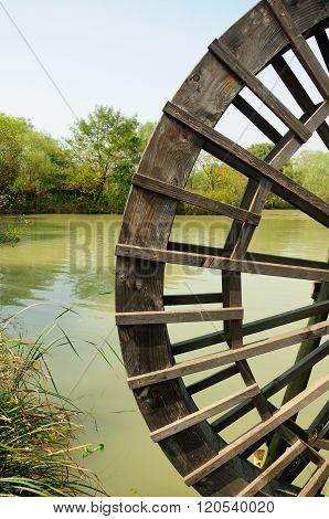 Xixi Wetland Water Wheel