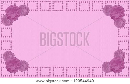 Mothers Day Digital Writing Paper Background