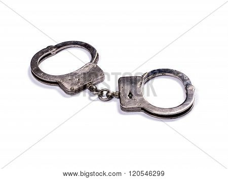 Police Handcuffs From The Sparkling Steel