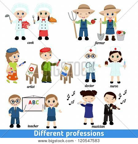 Kids Professions