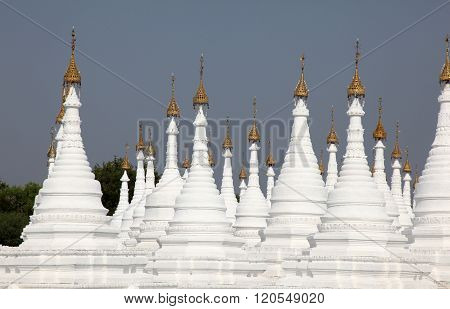 Pagaodas Mandalay Myanmar