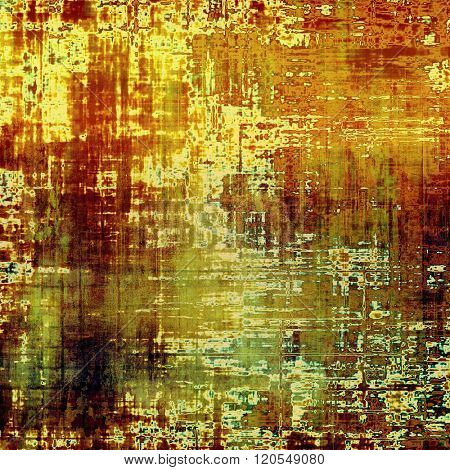 Grunge background or texture for your design. With different color patterns: yellow (beige); brown; green; red (orange)
