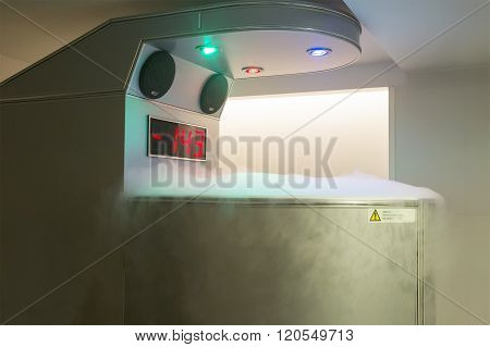 Cryotherapy Capsule
