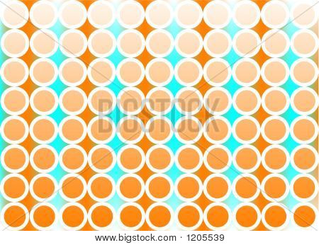 Orange Retro Pattern