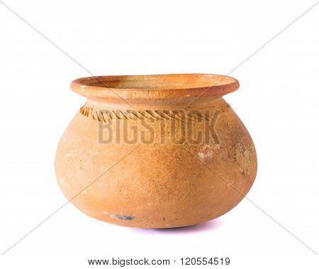Pots Made Of Clay For Use In The Kitchen.