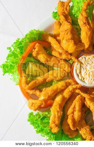 Fish Fillet Appetizer