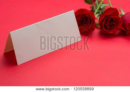 Love You, Miss You, Valentine's Day and card on pind background