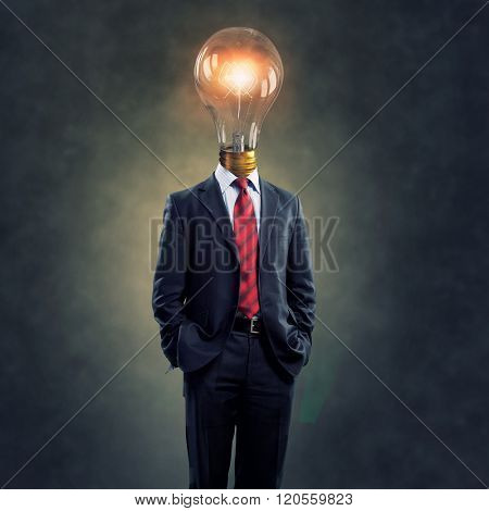 His head full of great ideas