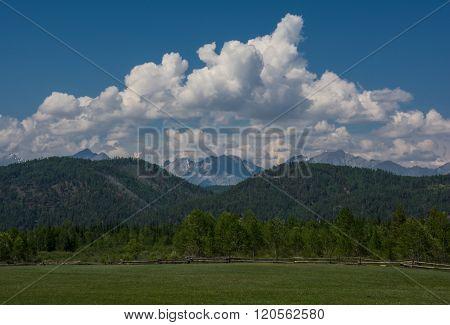 Tunkinskie mountains