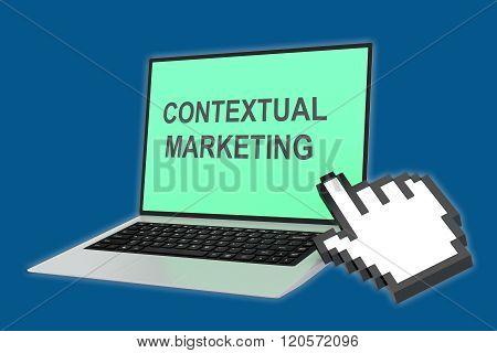 Contextual Marketing Concept