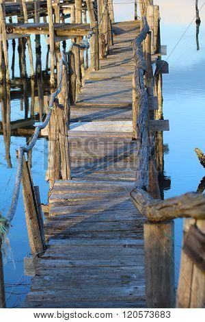 Fishermen Huts In Lagoons