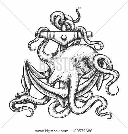 Octopus And Anchor