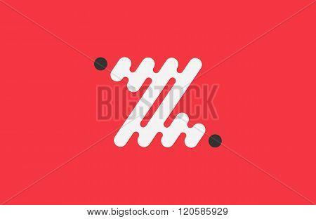 z letter logo. line logo. creative logo design