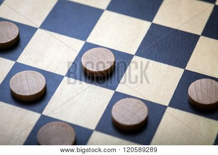 Checkers Game Detail