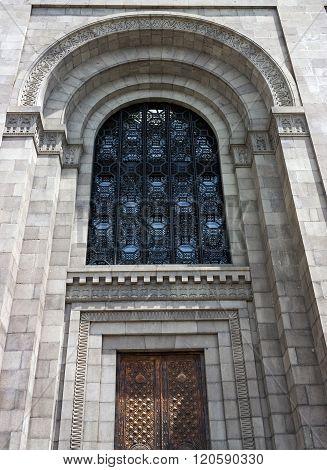 Entrance To The Matenadaran