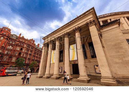 Manchester Central Library, UK.