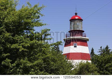 Seal Island Light Museum in Nova Scotia in Canada