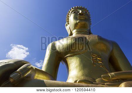 Wat Phra Yai - Big Buddha Statue In Pattaya in Thailand