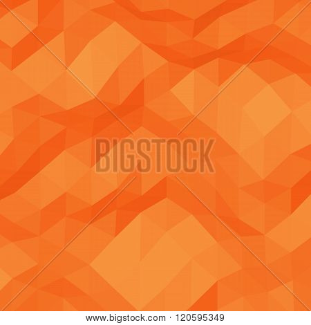 Red abstract triangular background