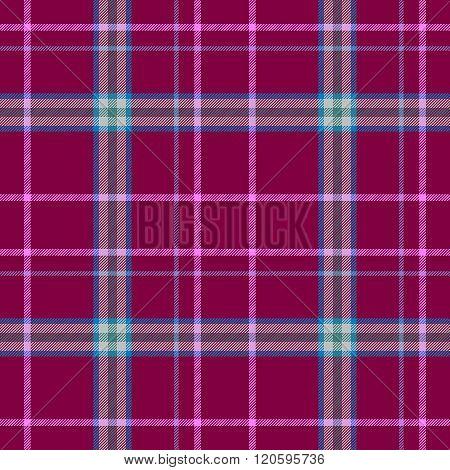 Burgundy Check Diamond Tartan Plaid Fabric Seamless Pattern Texture Background