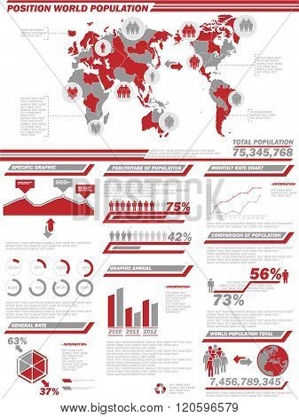 Infographic Demographics  Population