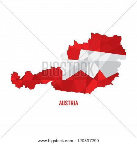 Map Of Austria.