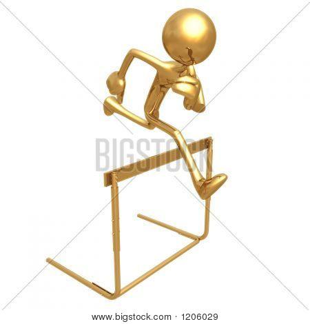 Saltando obstáculo