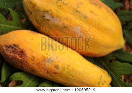 Thailand papaya fruit
