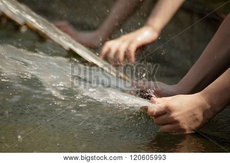 Fun with water