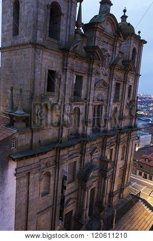 Igreja Dos Grilos In Porto In Portugal