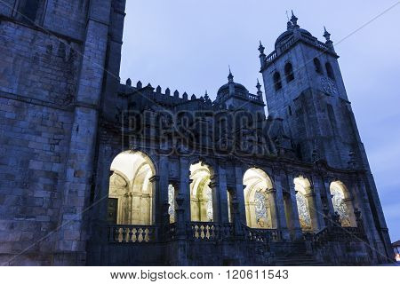 Porto Cathedral In Portugal