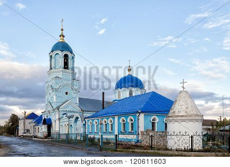 Holy Assumption Church. Usman. Russia