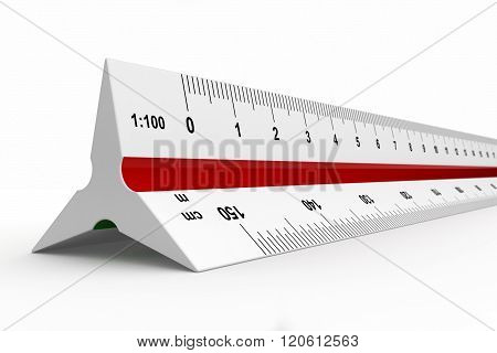 Reduction Scale Ruler